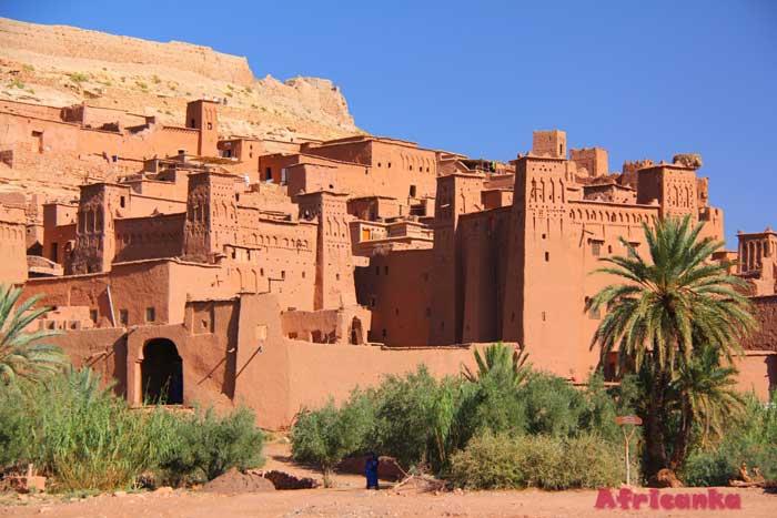 Пустынная крепость Айт Бен Хадду