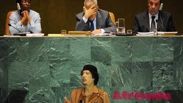 НАТО против Каддафи