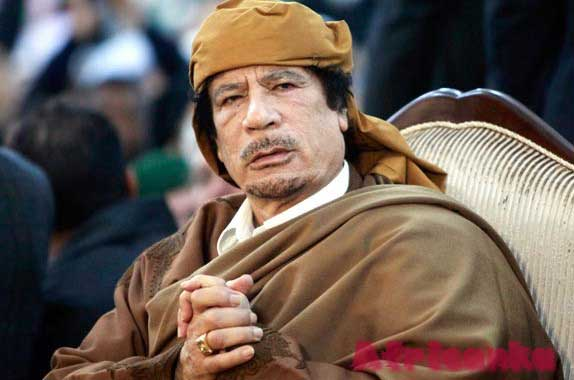 Международное давление на Каддафи