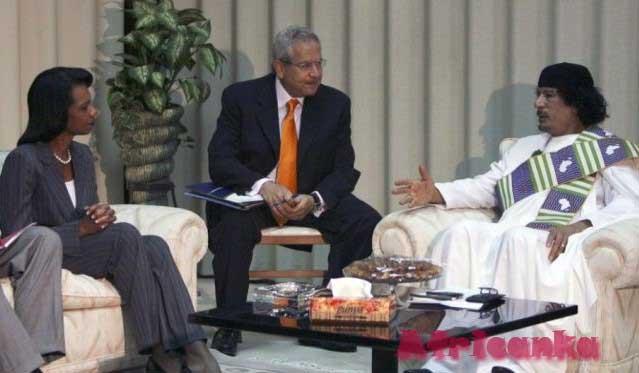 Международная деятельность Каддафи