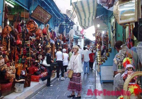 Базар в Тунисе