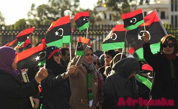 Население Ливии
