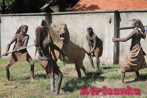 Охота на львов