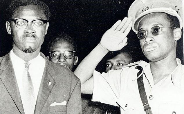 Мобуту с Лумумбой