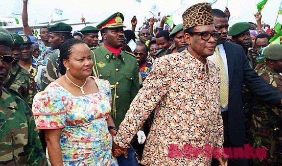 Личная жизнь Мобуту