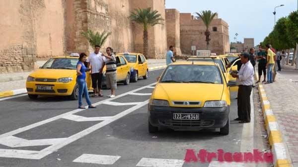Такси в Тунисе