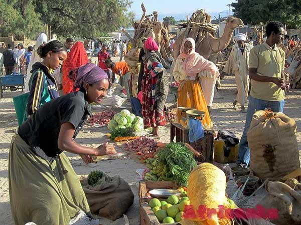 Эритрея: торговля