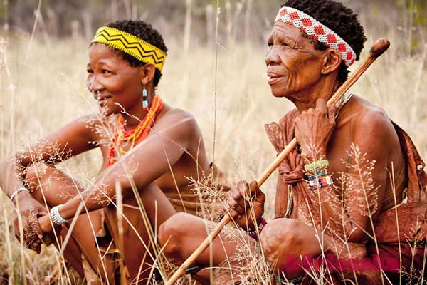 Племя Сан