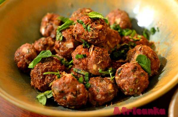 Кухня Марокко - кефта
