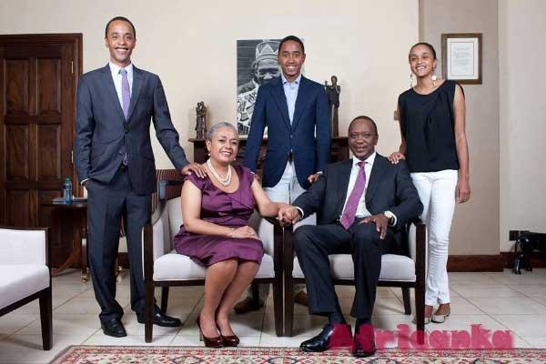Семья Кеньятта - Кения