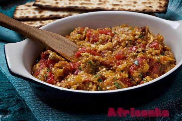 Кухня Марокко - заалук