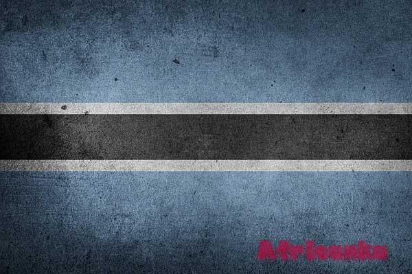 Ботсвана флаг