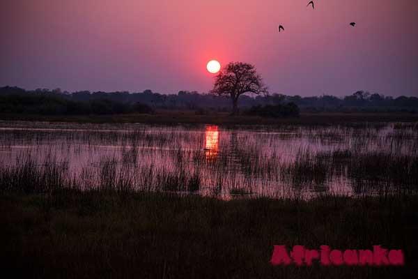 Ботсвана: дренаж