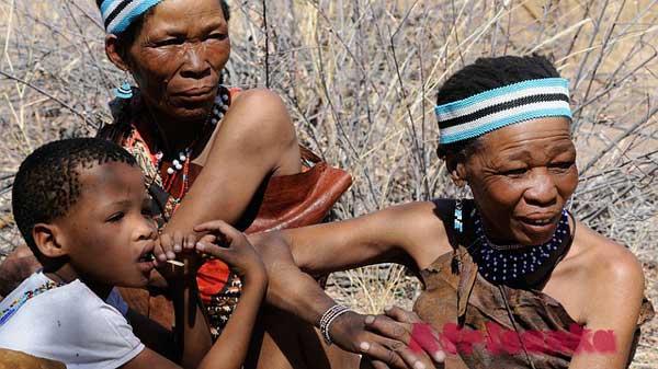 Ботсвана: люди