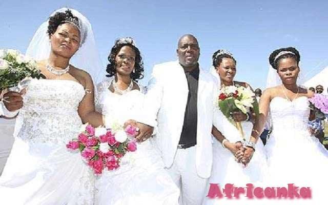 Странные браки в Африке