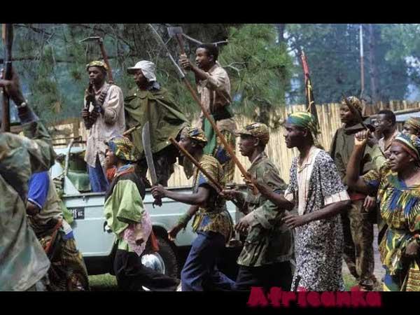 Война в Бурунди