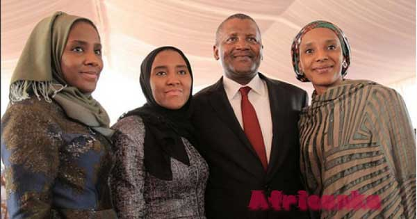 Семья Данготе - Нигерия