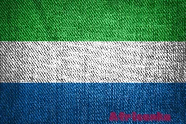 Сьерра-Леоне флаг