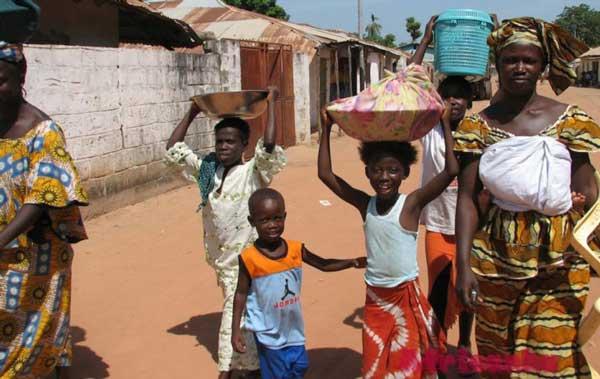 Гамбия демография