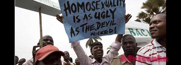 В Африке незаконно быть геем