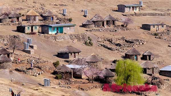 Лесото: расселение