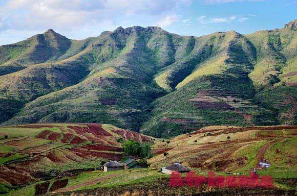 Лесото: климат