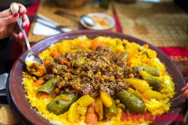Кухня Марокко - кускус