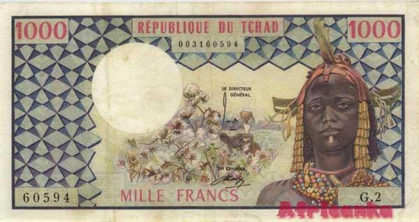 деньги Чад