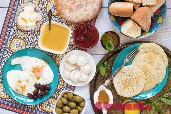 Что едят на завтрак в Марокко?