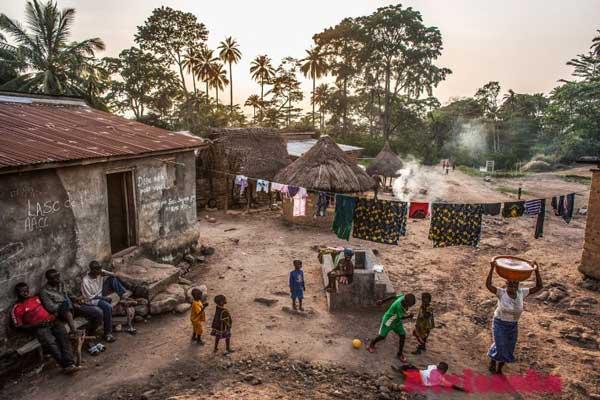 Либерия: расселение