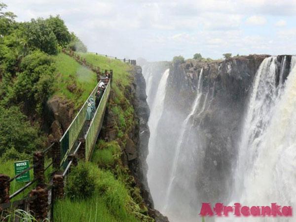 Отдых в Замбии: Парк Моси-о-Тунья