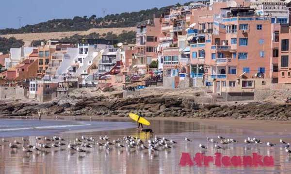 Лучшие пляжи Африки: Тагазут, Марокко