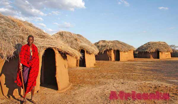 Посещение деревни племени Масаи