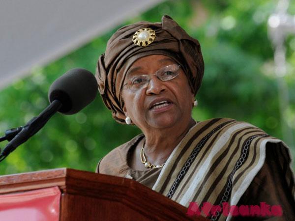 Президент Эллен Джонсон Серлиф (Либерия)