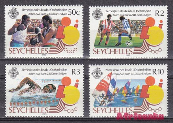 Олимпиада - факты о Сейшельских островах