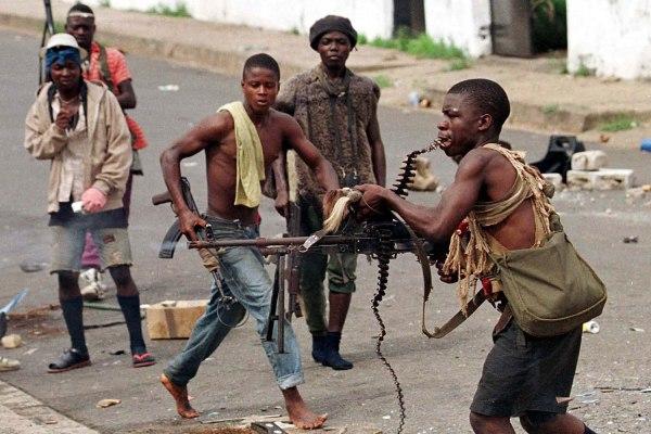 Влияние гражданской войны в Либерии