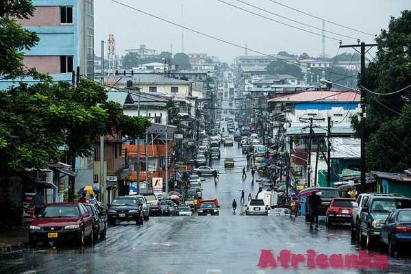 Монровия - столица Либерии