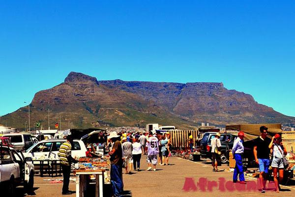 Отдых в Кейптауне: Рынок на пристани