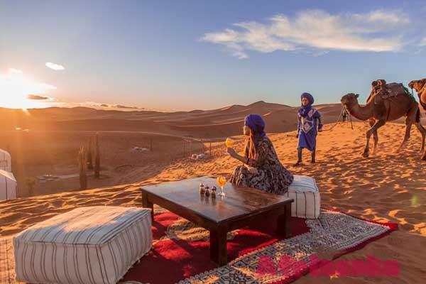 Тур по пустыне в Марокко