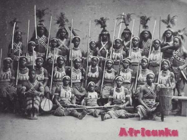 Амазонки Дагомеи (современный Бенин)