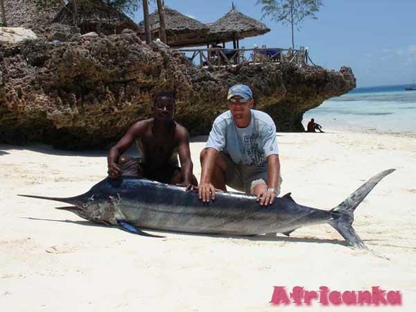 Виды спорта на Занзибаре: глубоководная рыбалка