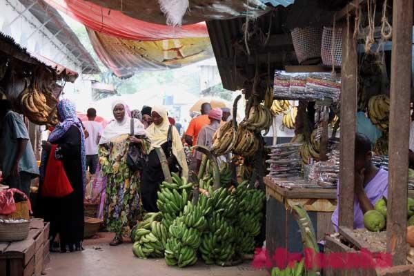 на рынке Фородхани