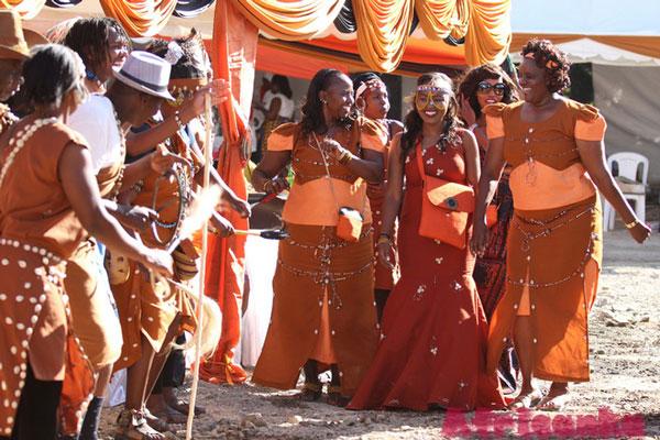 Традиционная Свадьба Кикуйю