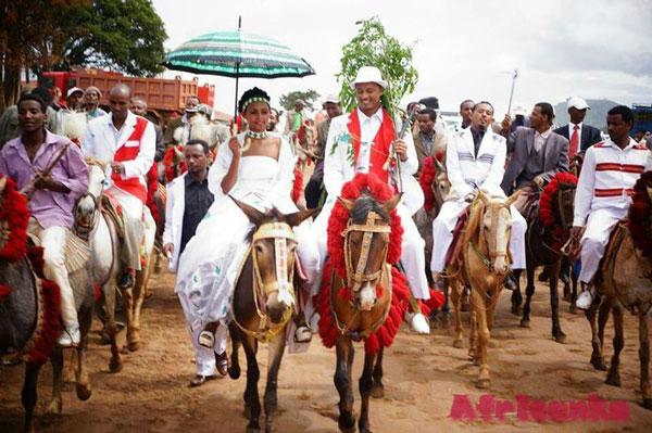Традиционная Свадьба Оромо