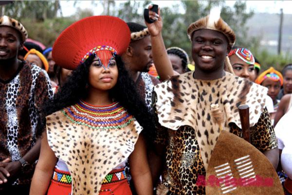 Зулусская Традиционная Свадьба