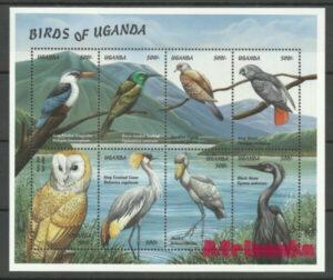 птицы Уганды