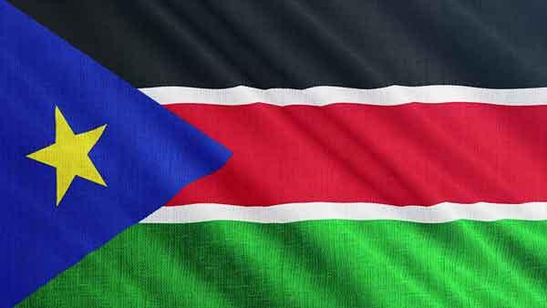 Южный Судан флаг