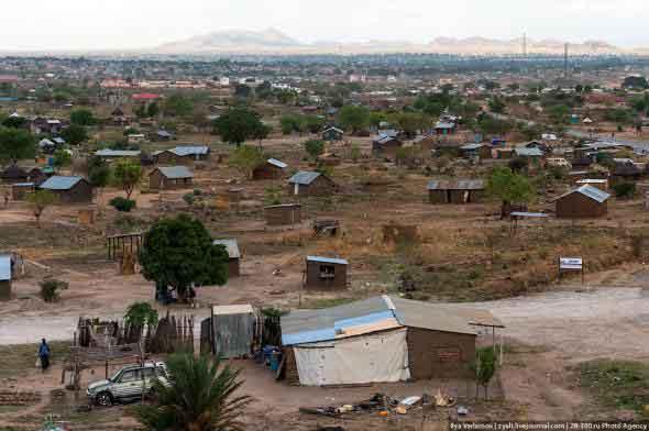 Дома в Южном Судане