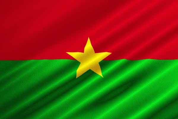 Буркина Фасо флаг