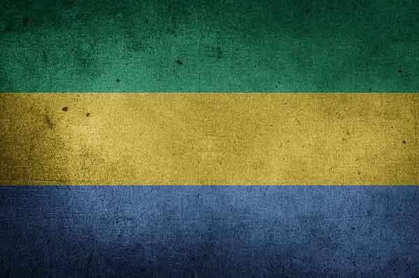 Габон флаг